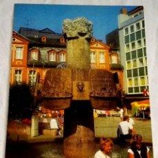 Postales: ALEMANIA - BINGEN AM RHEIN, WEINBRUNNEN / NO CIRCULADA. Lote 170358768