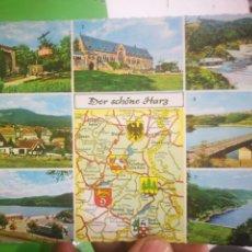 Postales: POSTAL ALEMANIA DER SCHONE HARZ. Lote 170376492