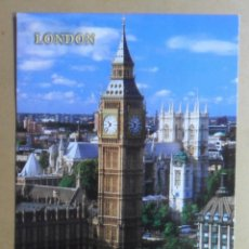 Postales: POSTAL - LONDON/LONDRES - BIG BEN - ED. KARDORAMA. Lote 170388164