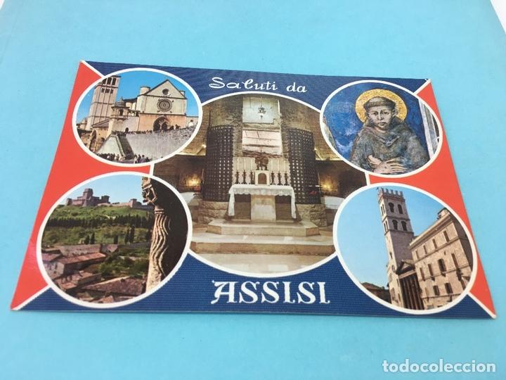 POSTAL DE ASSISI (ITALIA), CURASADA Y FECHADA EN 1985 (Postales - Postales Extranjero - Europa)