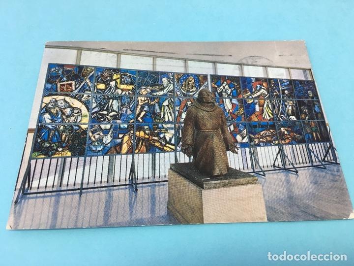 POSTAL DE COLEGIO DE SAN LORENZO DE BRINDISI, ROMA (ITALIA), CURSADA (Postales - Postales Extranjero - Europa)