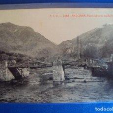 Postales: (PS-60917)POSTAL DE ANDORRA-PONT SOBRE LO RIU BALIRA.A.T.V.2285. Lote 170432052