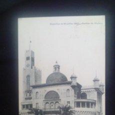 Postais: POSTAL ANTIGUA EXPOSITION DE BRUXELLES 1910. PAVILLON DE MONACO. Lote 171312798