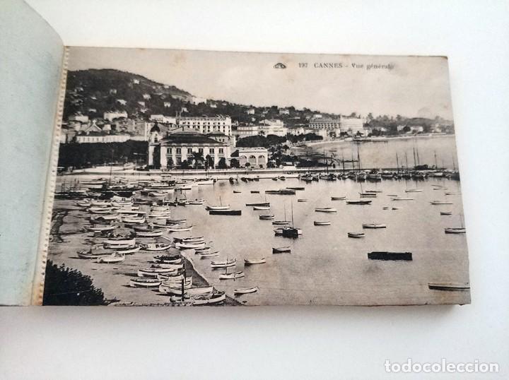 Postales: libro con 20 postales antiguas la cote d'azu vues detachables antiguo - Foto 2 - 171357255