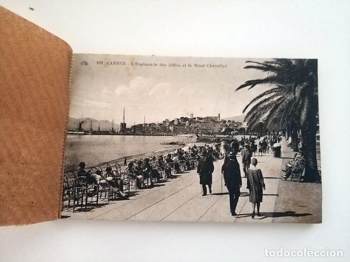 Postales: libro con 20 postales antiguas la cote d'azu vues detachables antiguo - Foto 3 - 171357255