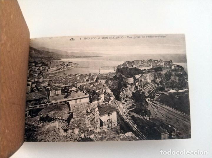 Postales: libro con 20 postales antiguas la cote d'azu vues detachables antiguo - Foto 4 - 171357255