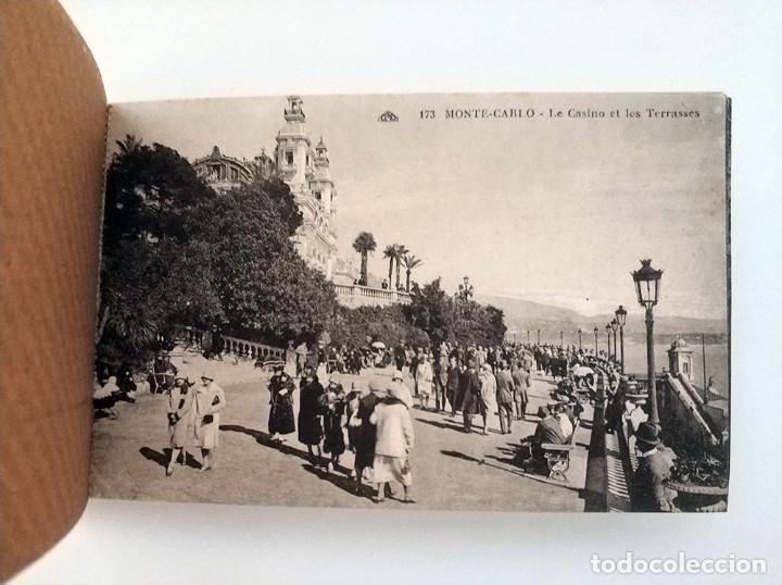 Postales: libro con 20 postales antiguas la cote d'azu vues detachables antiguo - Foto 5 - 171357255