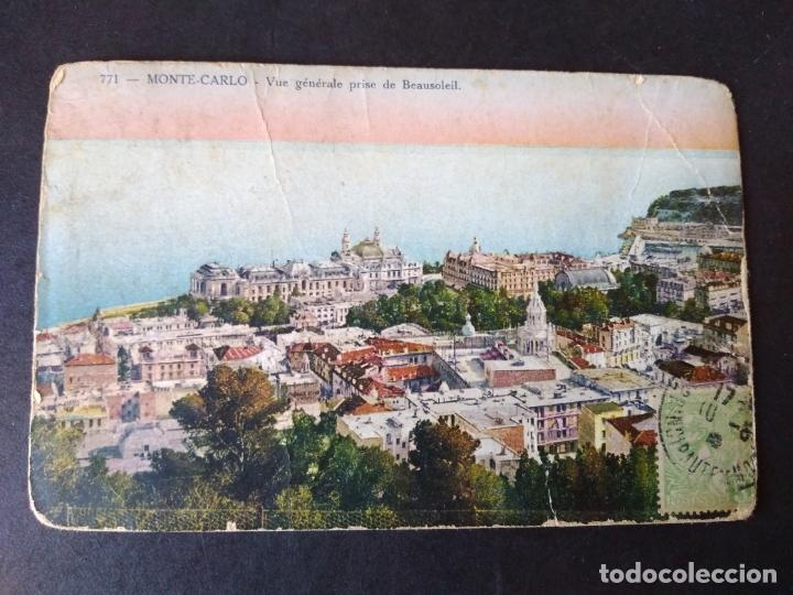 MONTECARLO MONACO VISTA (Postales - Postales Extranjero - Europa)