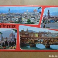 Postales: POSTAL - FIRENZE/FLORENCIA - VARIAS VISTAS - ED. TERNI. Lote 171692484