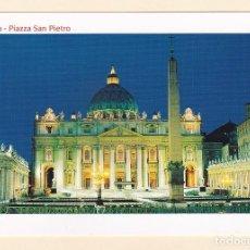 Postales: POSTAL PLAZA SAN PEDRO. ROMA (ITALIA). Lote 171754962