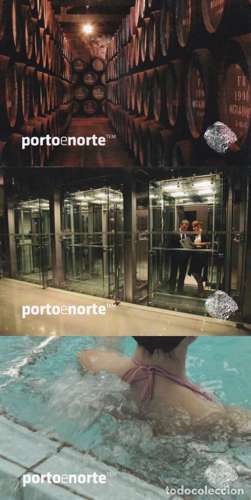 4 POSTALES OPORTO. PORTO E NORTE (PORTUGAL) (Postales - Postales Extranjero - Europa)