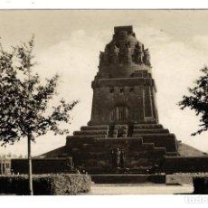 Postales: POSTAL ALEMANIA DDR LEIPZIG - MONUMENTO DE LA BATALLA DE LAS NACIONES - AÑOS 50-60 - SIN CIRCULAR. Lote 172201955