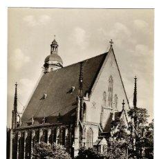 Postales: POSTAL ALEMANIA DDR LEIPZIG - THOMASKIRCHE IGLESIA DE SANTO TOMÁS - AÑOS 50-60 - SIN CIRCULAR. Lote 172203084