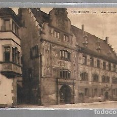 Postales: TARJETA POSTAL. ALEMANIA. FREIBURG I BR. ALTES RATHAUS.. Lote 172600369