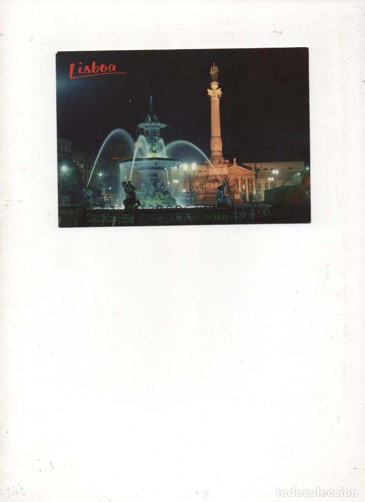 POSTAL DE LISBOA -ROSSIO-SIN CIRCULAR (Postales - Postales Extranjero - Europa)