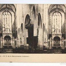 Postales: POSTAL ESTEREOSCOPICA DE ORLEANS (FRANCIA). N.D. DE LA RECOUVRANCE. SIN CIRCULAR. Lote 173187369