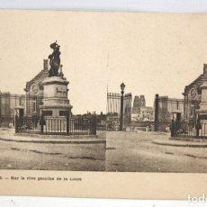 Postales: POSTAL ESTEREOSCOPICA DE ORLEANS (FRANCIA) - SUR LA RIVE GAUCHE DE LA LOIRE. SIN CIRCULAR. Lote 173187613