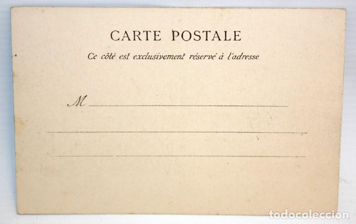 Postales: ANTIGUA POSTAL ESTEREOSCOPICA DE MONACO. LA GARE. SIN CIRCULAR - Foto 2 - 173190987