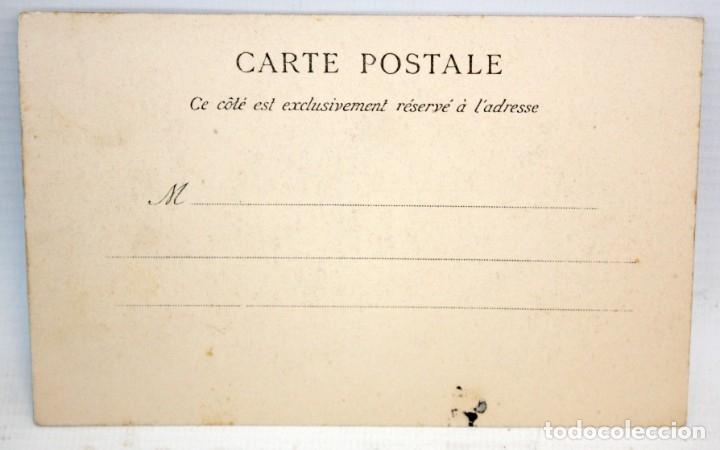Postales: ANTIGUA POSTAL ESTEREOSCOPICA DE NICE (FRANCIA). LA JETEE. SIN CIRCULAR - Foto 2 - 173191208