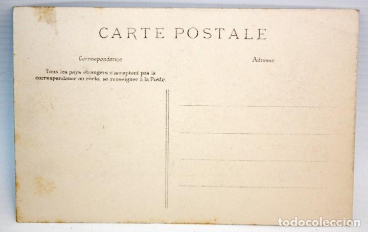 Postales: POSTAL ESTEREOSCOPICA DE LOURDES (FRANCIA). DESEMBARCO DE LOS ENFERMOS. SIN CIRCULAR - Foto 2 - 173191410