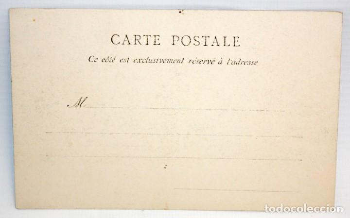 Postales: POSTAL ESTEREOSCOPICA DE LOCHES (FRANCIA). LA TOUR SAINT-ANTOINE. SIN CIRCULAR - Foto 2 - 173191529