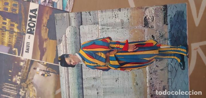 Postales: Lote de 5 postales de Roma sin usar años 60 o 70 - Foto 5 - 173392069