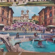 Postales: LOTE DE 5 POSTALES DE ROMA SIN USAR AÑOS 60 O 70. Lote 173392069