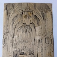 Postales: CTC - AÑOS 20 - ANTIGUA POSTAL LOURDES INTERIOR DE LA BASILICA - SIN CIRCULAR. Lote 173583203