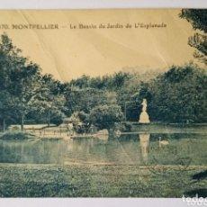 Postales: CTC - AÑO 1928 - ANTIGUA POSTAL 170 MONTPELIER - CIRCULADA CON SELLOS Y MATASELLOS MONTPELLIER 1928. Lote 173585843