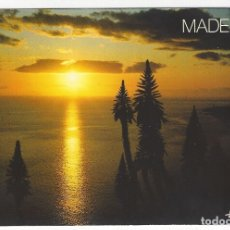 Postales: PORTUGAL - MADEIRA .- FUNCHAL.- AMAGNIFICENT SUNSET COLOURS THE BAY.. Lote 173642405