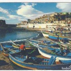 Postales: PORTUGAL.- MADEIRA.- CAMARA DE LOBOS.- FISHING BOATS ON THE HARBOUR. Lote 173642588