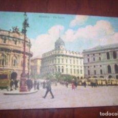 Postales: GENOVA - VIA DANTE. Lote 173883410