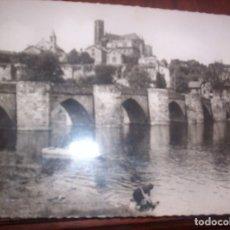 Postales: LIMOGES - LE PONT SAINT-ETIENNE Y LA CATEDRAL - 1952. Lote 173883530