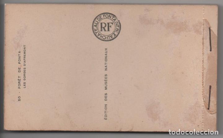Postales: LE CHATEAU DE FONTAINEBLEAU - BLOQUE CON 38 POSTALES - 1939 - Foto 2 - 174173604