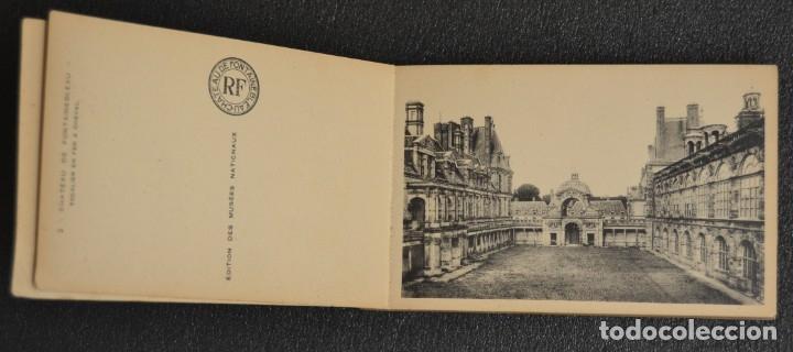 Postales: LE CHATEAU DE FONTAINEBLEAU - BLOQUE CON 38 POSTALES - 1939 - Foto 3 - 174173604