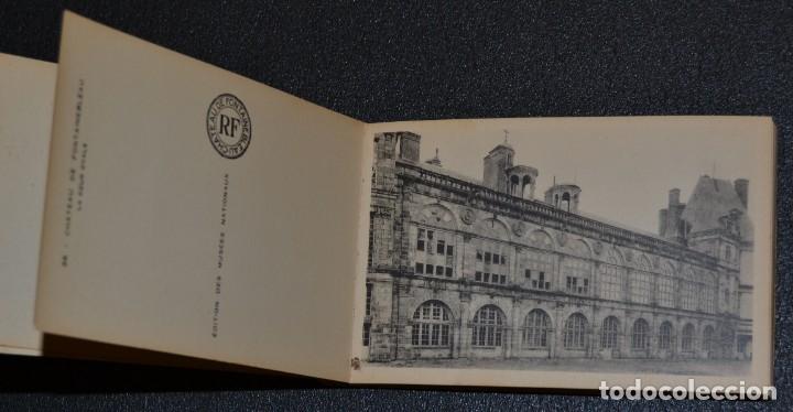 Postales: LE CHATEAU DE FONTAINEBLEAU - BLOQUE CON 38 POSTALES - 1939 - Foto 4 - 174173604