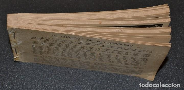 Postales: LE CHATEAU DE FONTAINEBLEAU - BLOQUE CON 38 POSTALES - 1939 - Foto 5 - 174173604