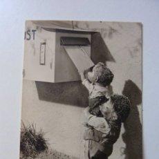 Postales: ANTIGUO ERIZO MECKI.FELICITAMOS № 40.CASTAS DE CARTA. LA EDITORIAL: AUGUSTO GUNKEL.DUSSELDORF. 1961. Lote 174520405