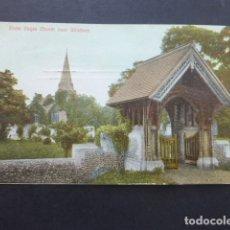 Postales: WINDSOR INGLATERRA STOKE POGES CHURCH. Lote 174575912