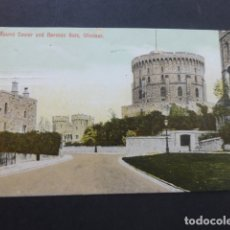 Postales: WINDSOR INGLATERRA ROUND TOWER AND NORMAN GATE. Lote 174575968