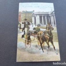 Postales: IRLANDA THE IRISH JAUNTING CAR. Lote 175184173