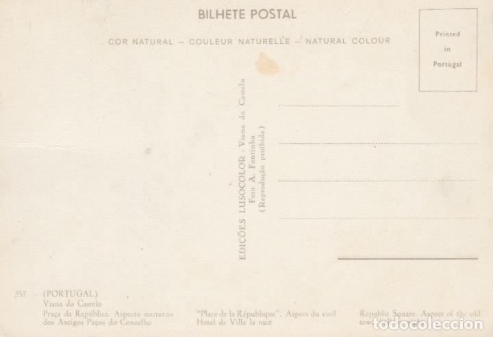Postales: POSTAL PORTUGAL. VIANA DO CASTELO. EDIÇOES LUSOCOLOR. VIANA DO CASTELO - Foto 2 - 175448709