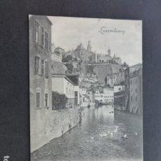 Postales: LUXEMBOURG L´ALZETTE AU GRUND. Lote 175619812