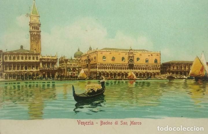 1915 VENEZIA BACINO DI SAN MARCO (VER SELLO) (Postales - Postales Extranjero - Europa)