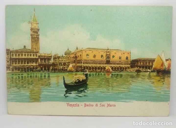 Postales: 1915 Venezia Bacino di San Marco (ver sello) - Foto 2 - 175970855