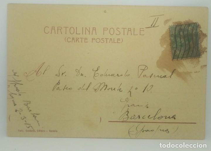 Postales: 1915 Venezia Bacino di San Marco (ver sello) - Foto 3 - 175970855