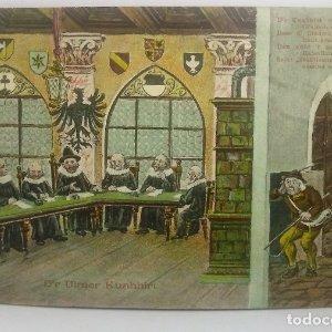 1909 Postal Alemana circulada (ver sello)