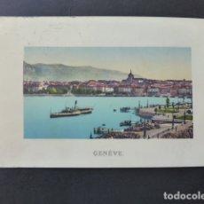 Postales: GINEBRA GENEVE SUIZA VISTA POSTAL . Lote 176083987