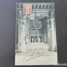 Postales: GINEBRA GENEVE SUIZA FOYER DU THEATRE POSTAL . Lote 176084290