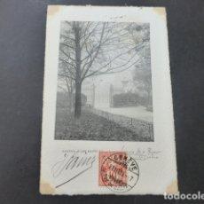 Postales: GINEBRA GENEVE SUIZA LES BASTIONS POSTAL GRABADO. Lote 176107114